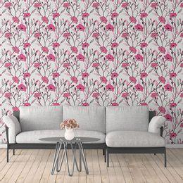 papel-de-parede-flores-em-arabesco-suave-branco