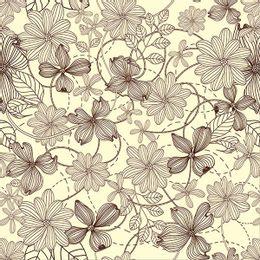 papel-de-parede-tropical-floral-pontilhado-champanhe