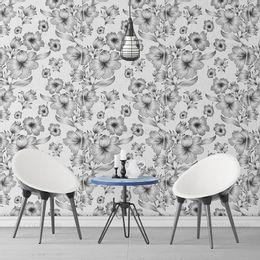 papel-de-parede-floral-preto-e-branco-1