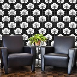 papel-de-parede-floral-preto-e-branco-vintage