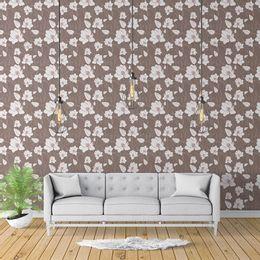 papel-de-parede-floral-moderno-tons-pasteis-marrom-1