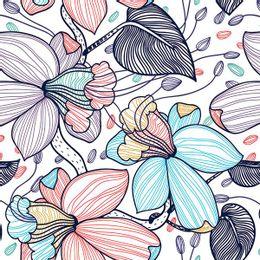 papel-de-parede-flores-coloridas-riscos-branco