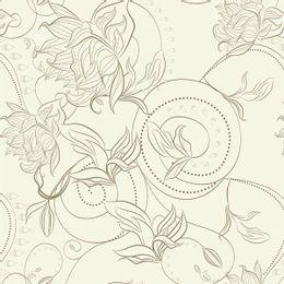 papel-de-parede-tropical-silhueta-pontilhada-creme