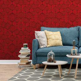 papel-de-parede-oriental-bolas-japonesa-vermelho-1
