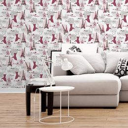 papel-de-parede-noite-romantica-em-paris-rosa-claro