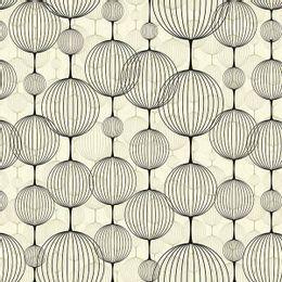 papel-de-parede-oriental-bolas-japonesas-amarelo-claro