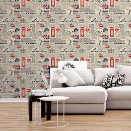 papel-de-parede-jornal-londres-bege-1