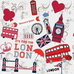 papel-de-parede-londres-welcome-to-london-cinza