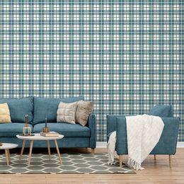 papel-de-parede-xadrez-quadriculado-azul-1