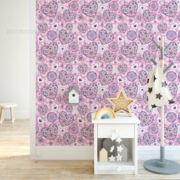 papel-de-parede-coracao-hippie-rosa-1