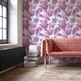 papel-de-parede-folhas-do-outono-lilas