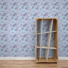 papel-de-parede-flores-em-fundo-azul-claro