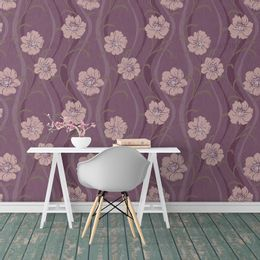 papel-de-parede-floral-roxo-primavera