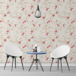 papel-de-parede-pequeno-floral-rosas-creme