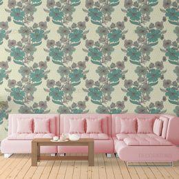 papel-de-parede-floral-verde-claro-moderno
