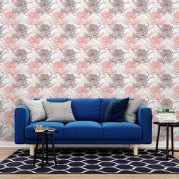 papel-de-parede-rosas-delicadas-em-risco-branco