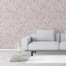 papel-de-parede-ramos-de-flores-lilas