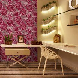 papel-de-parede-ramos-de-rosas-pink