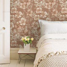 papel-de-parede-floral-moderno-nude