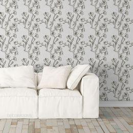 papel-de-parede-petalas-em-galhos-e-flores-branco
