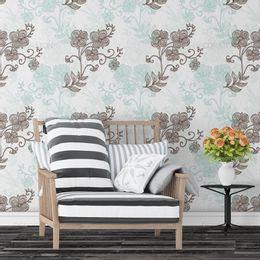 papel-de-parede-vintage-floral-turquesa