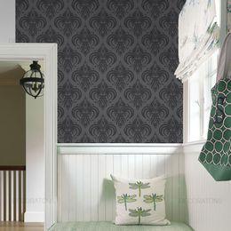 papel-de-parede-vintage-moderno-preto