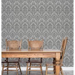papel-de-parede-vintage-cinza-desenhos-grande