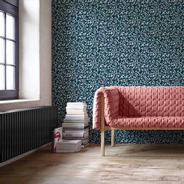 papel-de-parede-vintage-arabesco-azul-marinho