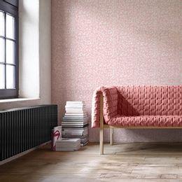 papel-de-parede-vintage-rosa-com-desenhos-branco-pequeno