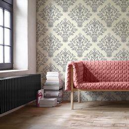 papel-de-parede-vintage-floral-creme