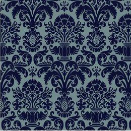 papel-de-parede-vintage-azul-marinho