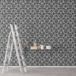 papel-de-parede-vintage-branco-com-preto