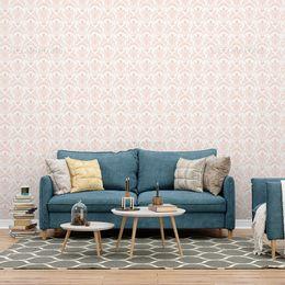 papel-de-parede-vintage-rosa-claro-desenhos-pequeno