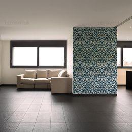 papel-de-parede-vintage-azul-cobalto-com-desenhos-branco-grande