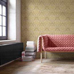 papel-de-parede-vintage-bege-claro-e-escuro