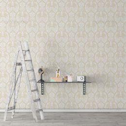 papel-de-parede-vintage-branco-com-bege-claro