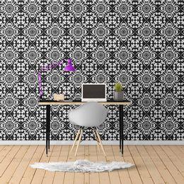 papel-de-parede-preto-com-branco-vintage