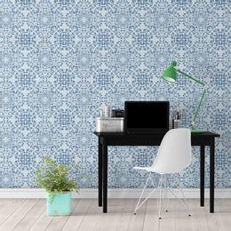 papel-de-parede-vintage-azul-claro