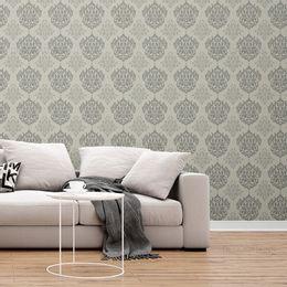 papel-de-parede-vintage-arabesco-escuro