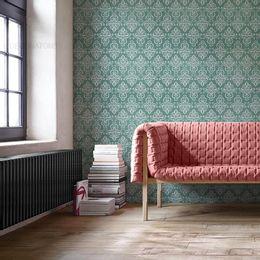 papel-de-parede-vintage-verde-floresta-desenhos-pequeno