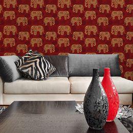 papel-de-parede-elefantes-da-india-mandala-vinho-pai07