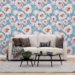 papel-de-parede-floral-suave-moderno-turquesa-pri100-1