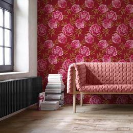 papel-de-parede-pinturas-de-rosas-branco