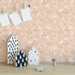 papel-de-parede-passaros-e-galhos-rosa-queimado
