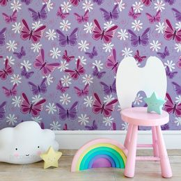 papel-de-parede-borboleta-roxa-e-lilas