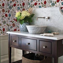 papel-de-parede-floral-delicado-suave-vermelho