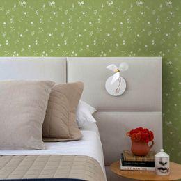 papel-de-parede-flores-pequenas-verde-musgo