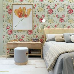 papel-de-parede-rosas-amarelas-e-vermelhas
