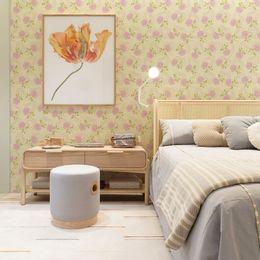 papel-de-parede-rosas-delicadas-vintage-coracao-amarelo-claro