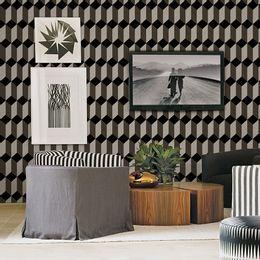papel-de-parede-geometrico-marrom